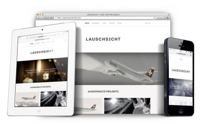 Lauschsicht, Website, Kevin Blanc, Wordpress, WPML